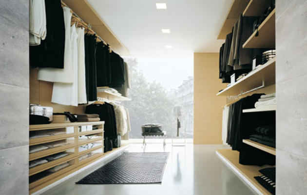 Luxury walk in closets to suit your style i like to for Fancy walk in closet