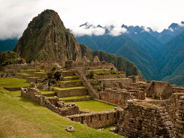 Machu Picchu by Unknown Photographer