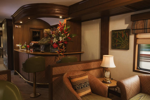 Maharajas Express Asia Train Rich