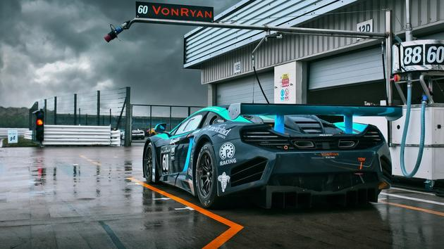daily wallpaper: mp4-12c von ryan racing | i like to waste my time