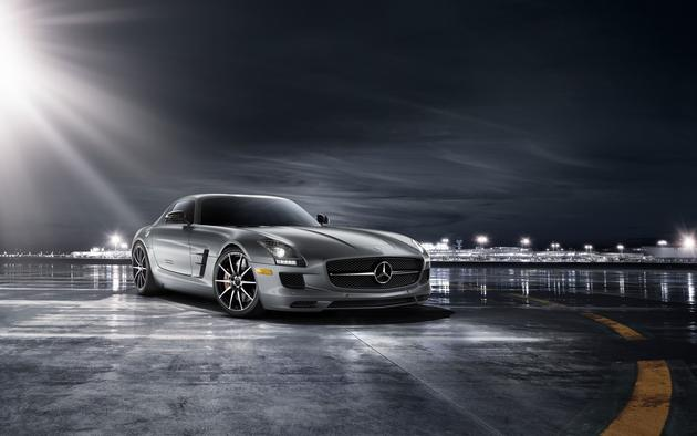 Mercedes Benz SLS AMG HD Wallpaper