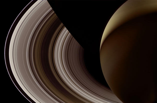 Night Side of Saturn