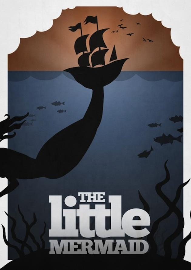 little mermaid movie poster