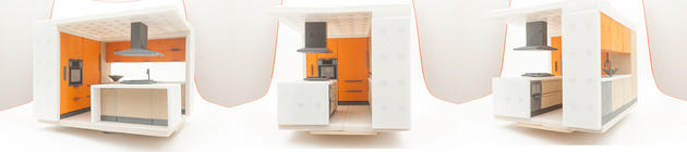 Modular Magnetic Kitchen MMK