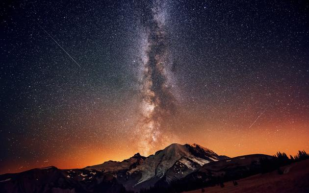 Mount Rainier by Dave Morrow HD Wallpaper