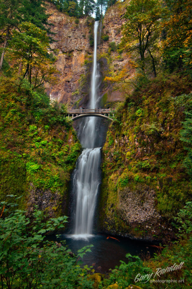 Multnomah Falls of Oregon by Gary Randall