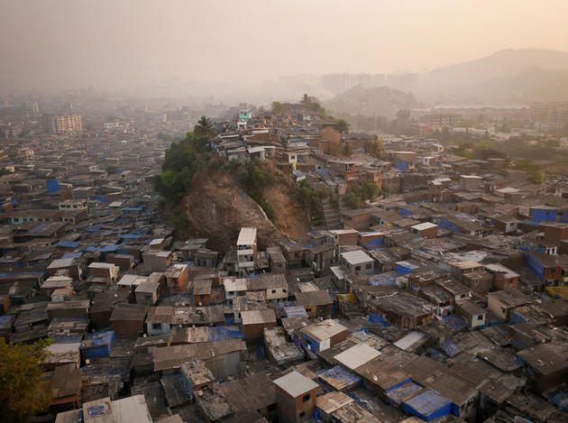 Northern Mumbai Slums