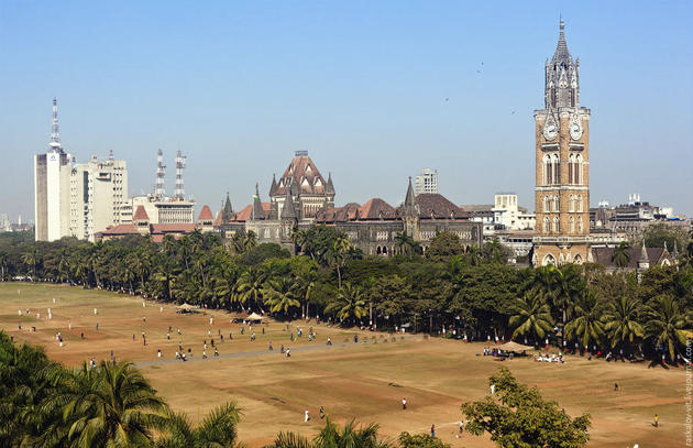 Mumbai University cricket fields