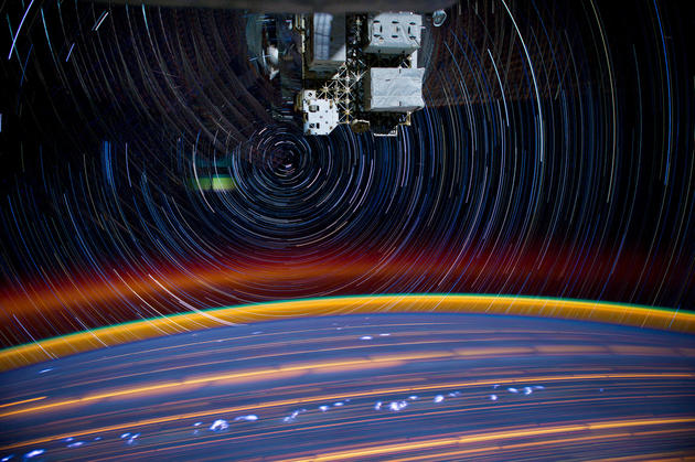 Star Trails by NASA