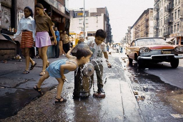 Avenue C, Lower East Side, 1970.
