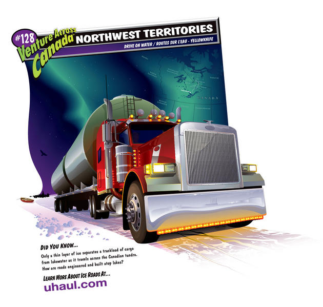 Northwest Territories extreme trucking