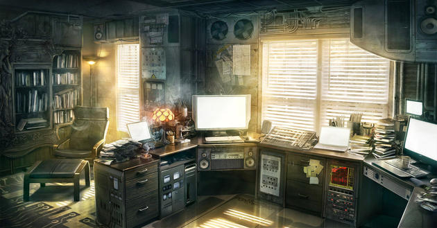 Post Apocalyptic Office