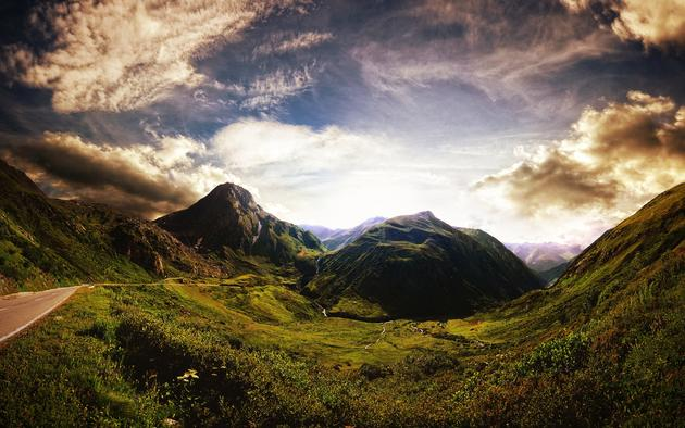 Daily Wallpaper Beautiful Old Mountains Of Swiss Alps I
