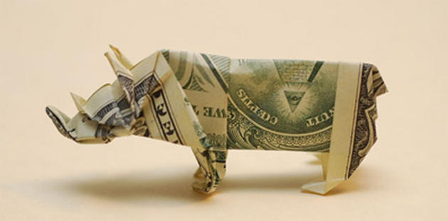 hog origami money