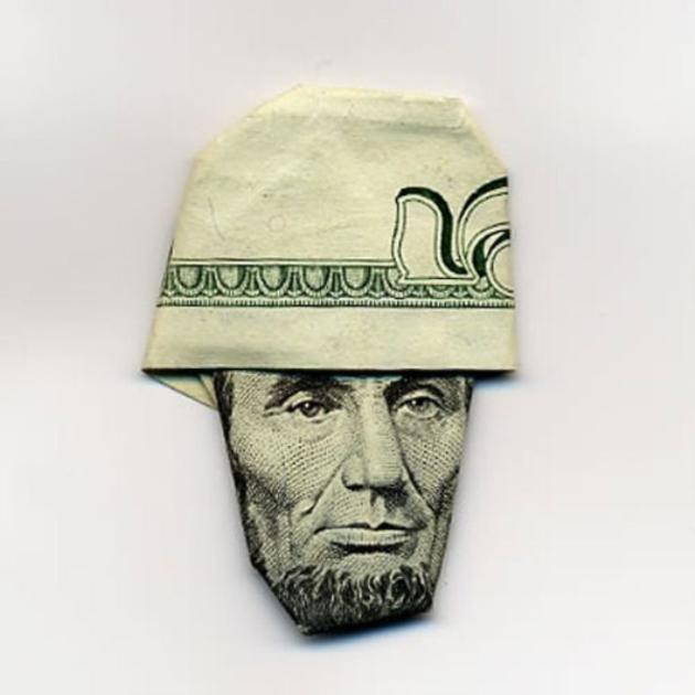 lincoln hat origami