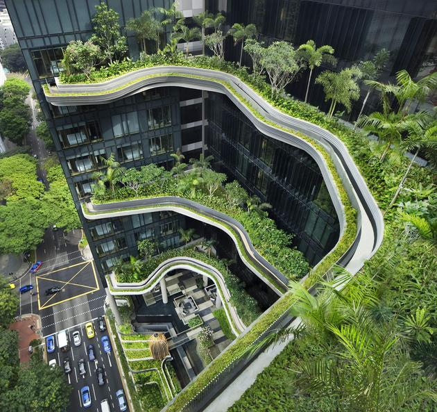 The PARKROYAL on Pickering, Singapore