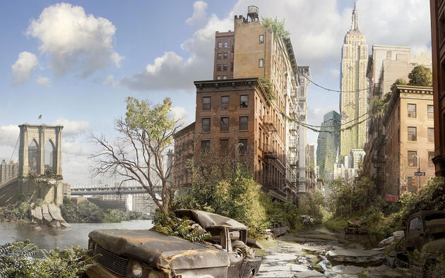 Post apocalyptic New York