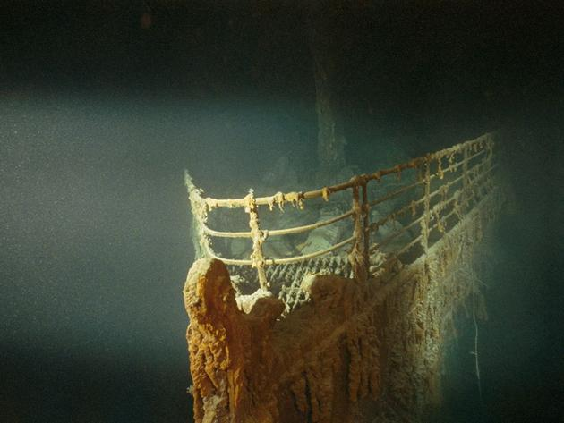 Prow of the RMS Titanic Emory Kristof