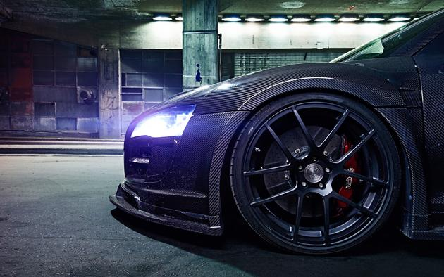 Carbon Fiber Beast R8 Wallpaper