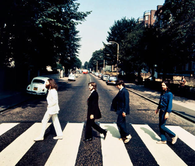 Beatles Abbey Road backwards