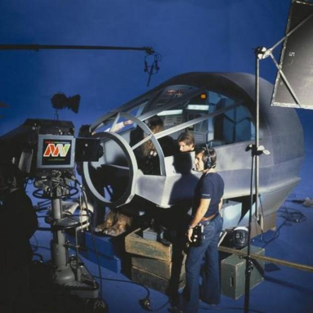 Filming Star Wars