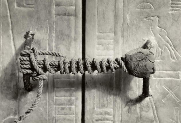 King Tut's Unbroken Tomb Seal