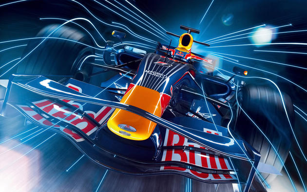 Red Bull F1 Race Car