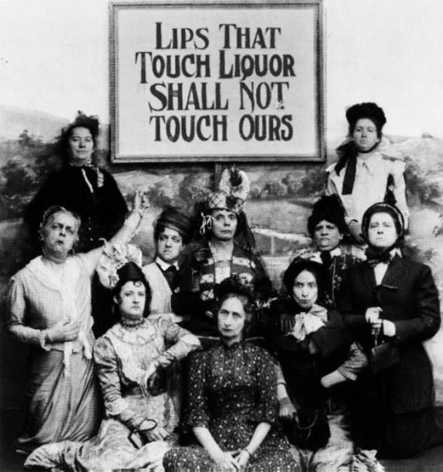 Old Weird Photos Anti Alchohol Women