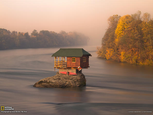 Drina River house, Serbia