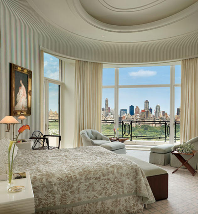bedroom penthouse manhattan