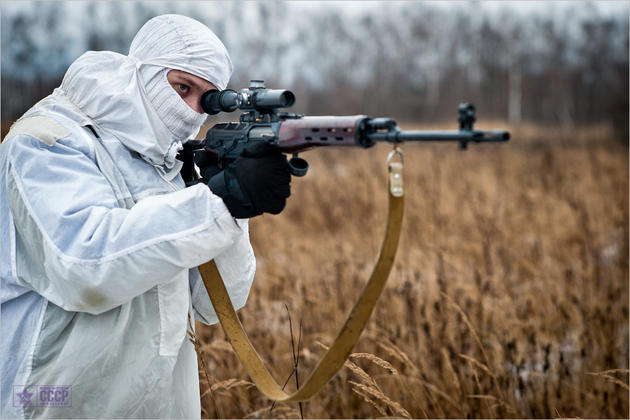 target practice in cold weather