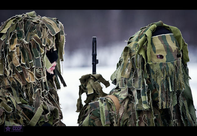 amazing russian ghillie suits