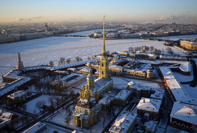 Saint Peter & Paul-Fortress, Saint Petersburg