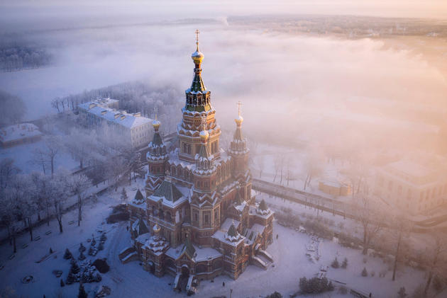 Saint Peter & Paul Cathedral, Saint Petersburg