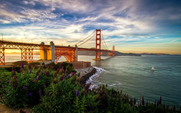 San Francisco Golden Gate Bridge HD Wallpaper