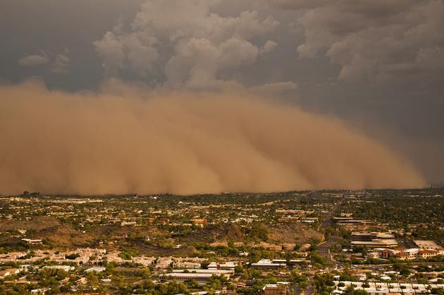 Arizona, USA Sand Storm 2011