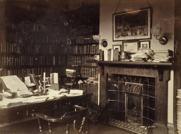 Sir Walter Besant Private Study Room