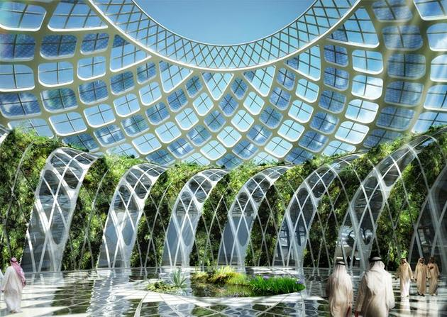 Solar Drop, an aquatic complex