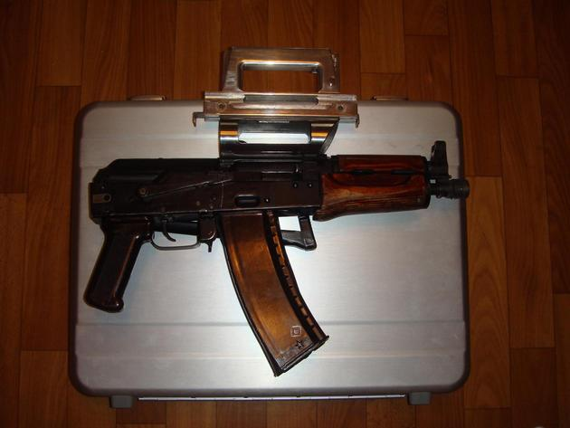a case to carry an aks
