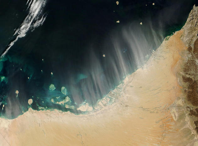 Dust Storms in United Arab Emirates