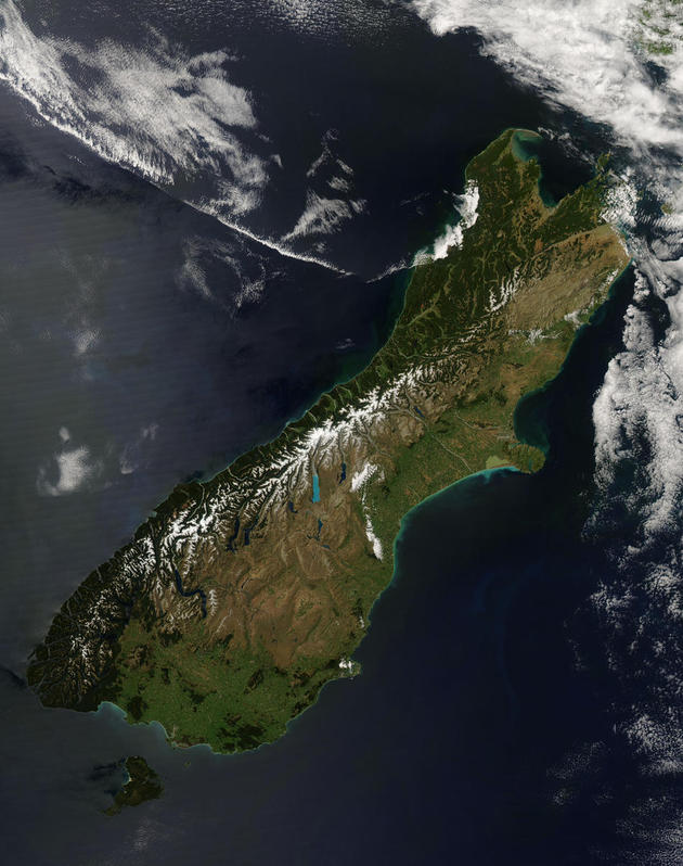 New Zealand South Island