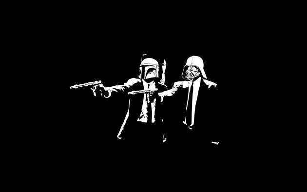 Pulp Fiction + Star Wars Wallpaper