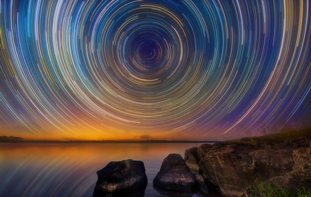 Australian Startrails by Lincoln Harrison