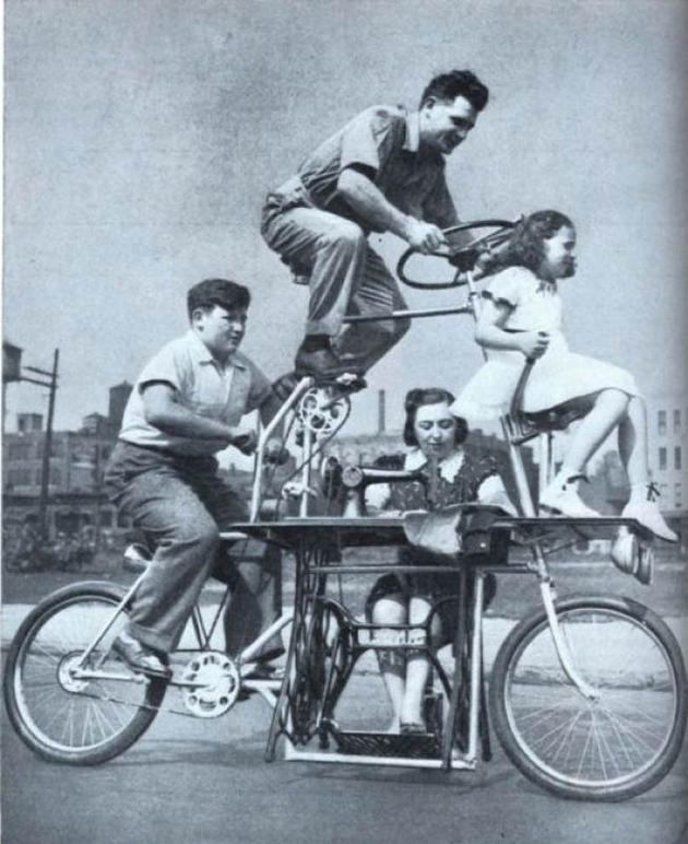 A bicycle for the entire family