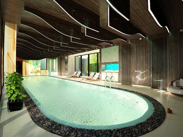 indoor pool house design
