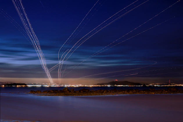Long Exposure Airport Photos