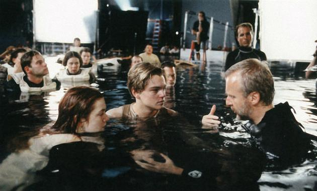 James cameron filming