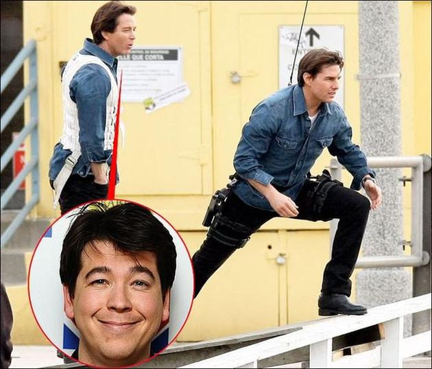 Tom Cruise Michael Mcintyre Stunt Double