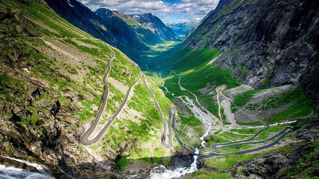 Trollstigen Norway HD Wallpaper Windy Roads