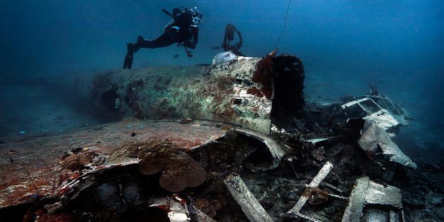 Truk Lagoon Chuuk Islands WW2 Ship Graveyard